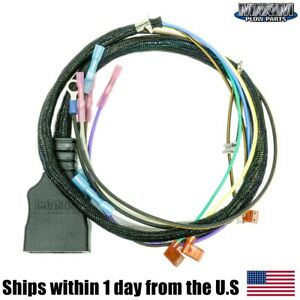 Snow Plow Harness Repair 9 Pin Plow Plug Kit Compatible With Fisher 22335k