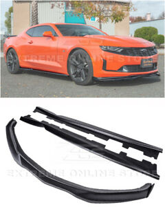 Eos For 19 Up Camaro All T6 Style Front Lip Carbon Side Splitter Side Skirts