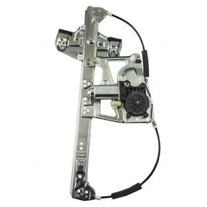 Power Window Regulator Fits 00 01 Cadillac Deville Driver Front W Motor Assembly