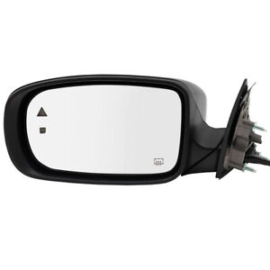 Side Mirror For 11 19 Dodge Charger Drivers Power Heated Memory Left 1nj05dx8al