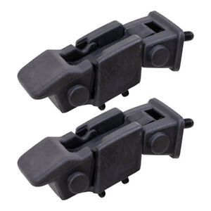 4 Pc Hood Hold Down Safety Latch Brackets Set For 97 06 Jeep Wrangler