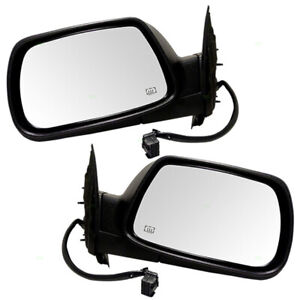 Pair Mirrors For 05 08 Jeep Grand Cherokee Power Heated Memory Left Right Set