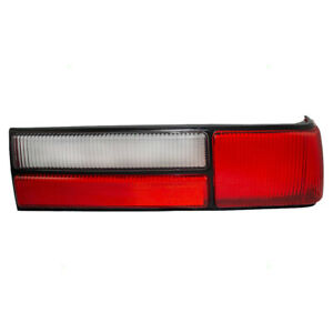 Taillight Fits 87 93 Ford Mustang Fox Body Lx Style Passenger Tail Lamp Lens