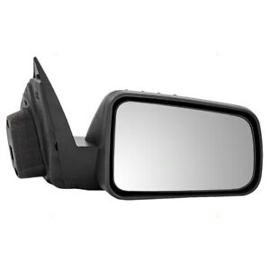 Passengers Side View Power Mirror Textured Black Fits 2008 2011 Ford Focus