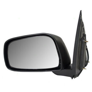 09 13 Suzuki Equator Pickup Truck Drivers Side Power Mirror Textured 96302 9bc9b