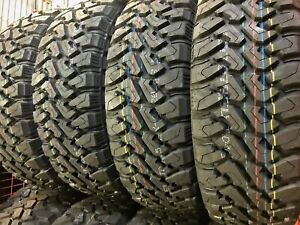 4 New Centennial Dirt Commander M T Lt 33x12 50r22 Load F 12 Ply Mt Mud Tires