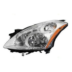 Drivers Hid Combination Headlight Lens Assembly For 10 12 Nissan Altima Sedan