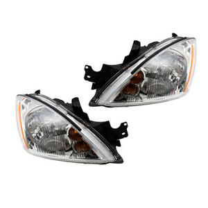 2004 2007 Mitsubishi Lancer Set Of Headlights