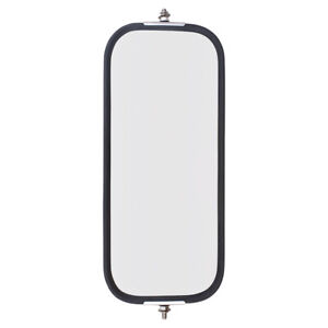 Universal West Coast Truck Stainless Steel Side Mirror Head With Sturdy Back