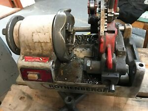 Pipe Threader Pipe Cutter Rothenberger Ropower 50 R