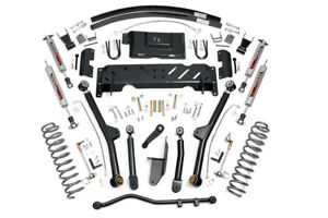 Rou 61622 Rough Country Fits 84 01 Jeep Cherokee Xj 4 5in Long Arm Lift Kit