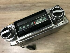 1968 68 Chevy Ii Nova Ss Used Gm Delco Am Push Button Radio Rare 1 Yr Only a