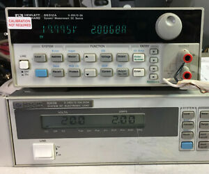 Hp 66312a Variable Dc Power Supply 0 20v 0 2a 40w Load Tested