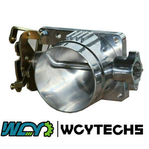 75mm Throttle Body Polished For Ford Mustang 1996 2004 4 6l V8 Gt