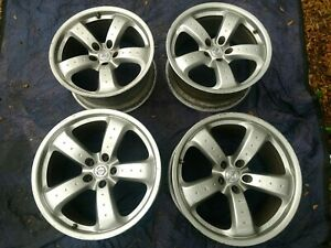 Oem Nissan 350z Z33 Ray s Forged Track V2 Wheels 18 Front 19 Rear Genuine