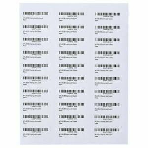 Premium Shipping Address Mailing Labels 1 X 2 5 8 30 sheet 30 Up 1 1000 3000