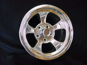 1 15 X 7 Rons Rims Hot Rod square Body Gm 5 On 5 Bp Gmc Chevy Truck caps