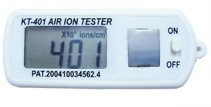Kt 401 Mini Air Ion Counter for High Concentration Ions pocket Size