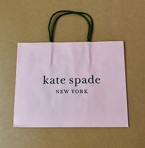 Kate Spade Small Store Paper Shopping Gift Bags 7 9 X 9 9 New