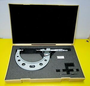 L k Mitutoyo Micrometer Outside Disc 2 3 Digimatic 323 713 10 Made In Japan