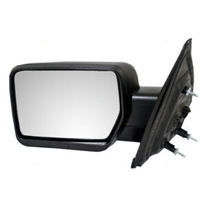 Power Door Mirror Fits 2009 2014 Ford F150 Pickup Truck Driver Side Textured
