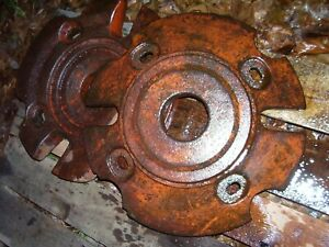 Vintage Allis Chalmers Wd Wd 45 D 17 Tractor Rear Wheel Weight Set