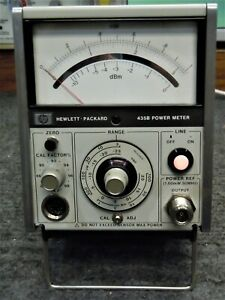 Hp 435b Power Meter Excellent Physical And Working Condition
