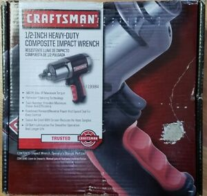 Craftsman 919984 1 2 580 Ft lbs Heavy Duty Air Impact Wrench Brand New