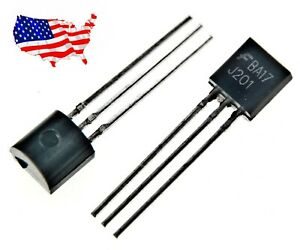 J201 5 Pcs Jfet N channel 50 Ma 40v To 92 Transistor From Usa
