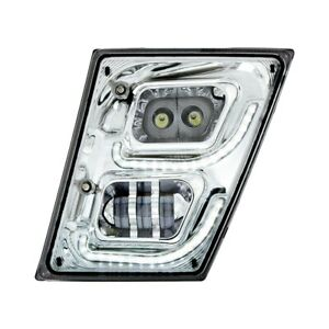 For Volvo Vnl 13 17 United Pacific Driver Side Projector Led Fog Light W Drl