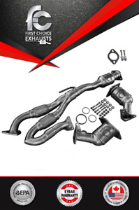 For 2009 2010 2011 2014 Nissan Maxima Catalytic Converter Set With Flex Y Pipe