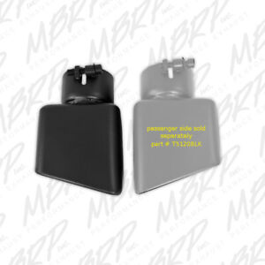 Mbrp Tip 4 1 2 x 3 Rectangle Angled Cut 3 O d Inlet T5119blk