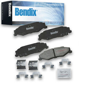 Bendix Cfm732 Premium Copper Free Semi metallic Brake Pads Pair Left Right By