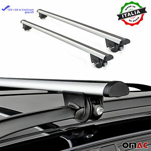 Roof Rack Cross Bars Luggage Carrier Silver Fits Subaru Impreza Xv 2010 2020