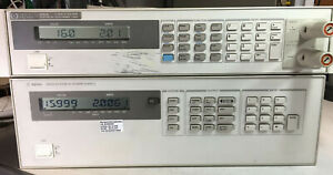 Agilent Hp 6628a Dual Variable Dc Output Power Supply Tested At Full Load