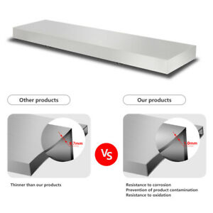 4 Feet Shelf For Concession Window Removable Loading With 44lbs Food Accessories