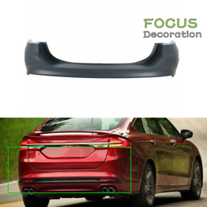 New Rear Bumper Cover For 2013 2018 Ford Fusion Primed