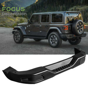 Rear Bumper For 07 18 Jeep Jk Wrangler Rubicon 10th Anniversary Style