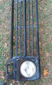 1967 1968 1969 Ford Truck Grille Steel Paintable Originalused