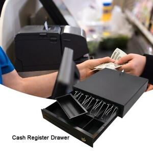 Cash Register Drawer Coin Cash Tray Removable Coin Compartment For Supermarkets