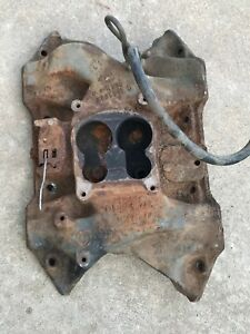 4 Barrel Intake Manifold Big Block Mopar Dodge Plymouth Chrysler 1975 1976 440