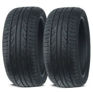 2 New Lexani Lxuhp 207 215 45zr17 91w Xl All Season Ultra High Performance Tires