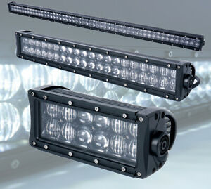 Xprite 5d Clear Lens Cree Led Light Bar Spot Flood Combo Work Lamp For 12v Cars