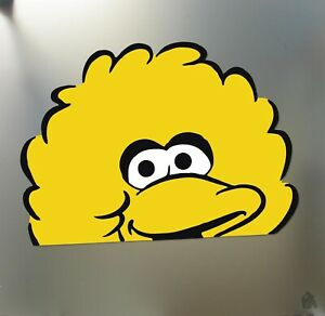 Big Bird Sticker Huge Funny Jdm Lowered Low Car Truck Window Drift Decal