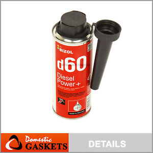Bizol Diesel Power D60 Diesel Additive Fuel Injection Cleaner Made In Germany