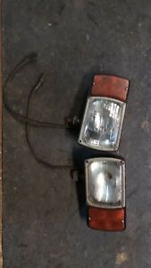 Western Fisher Snow Plow Lights 4 Pin
