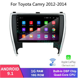 For Toyota Camry 2012 2014 Gps Navigation 10 2 Car Radio Stereo Dvd Player Bt