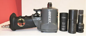 Aircat 1057 Th 1 2 Drive Compact Stubby Air Impact Gun Wrench Plus Extras Nice