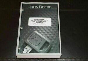 John Deere 3120 3320 3520 3720 Without Cab Compact Tractor Service Manual Tm2138