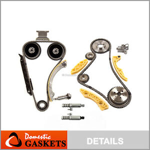 Timing Chain Kit Vct Selenoid Actuator Gear Fits Buick Gm Ecotec 2 2l 2 4l